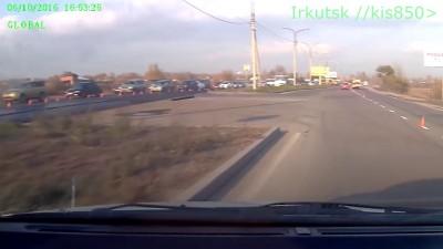 Смертельное ДТП в Иркутске
