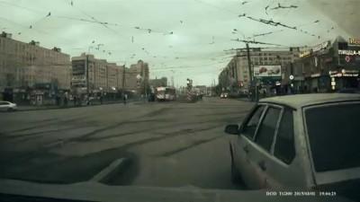 Ссыкливый водитель ТАЗа