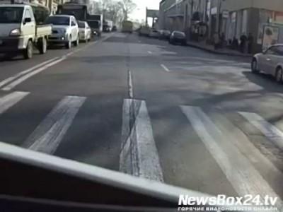 Смертельное ДТП в центре Владивостока
