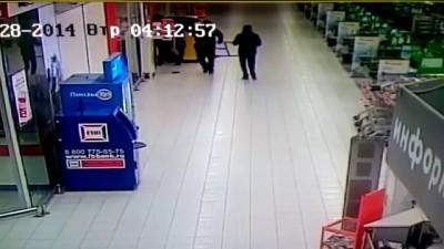 неизвестные люди украли банкомат
