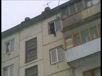 Орск. Падение с балкона