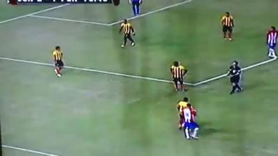 Футболист колумбийской команды пнул сову