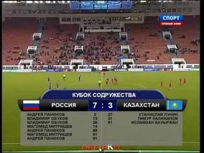 Россия Казахстан 7 3