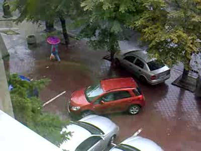 Неуверенная парковка