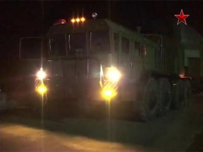 Установка МБР «Тополь-М» в ракетную шахту