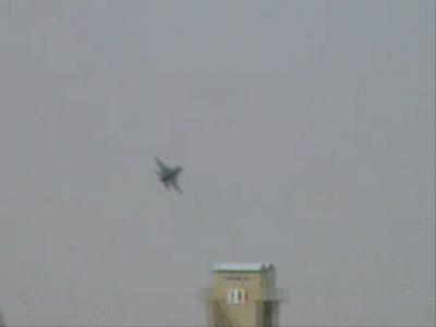 F-16 Low Pass