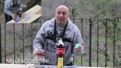 Coke + Nutella + Mentos + Durex world record