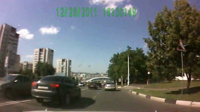 Программист из Белгорода отжигает на дороге