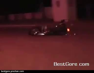 Motorcycle Accident Happens Behind Reporter During Live Broadcast Best Gore
