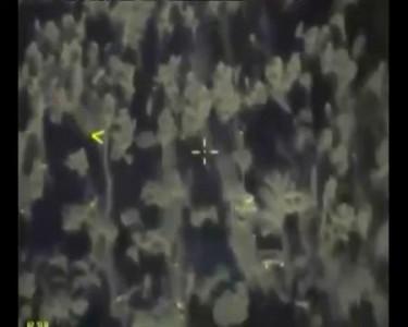Минобороны РФ опубликовало видео удара по военной