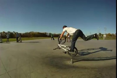Tim Knoll creative BMX tricks