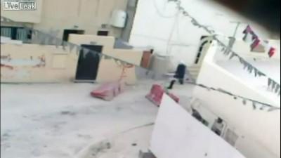 Полиция Бахрейна спешит на помощь