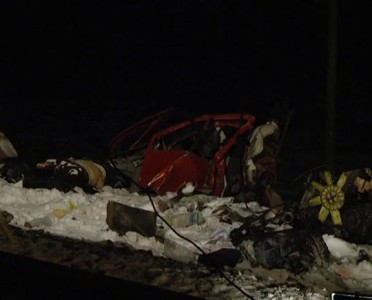 Под Сумами 11 человек погибли из-за столкновения поезда с маршруткой