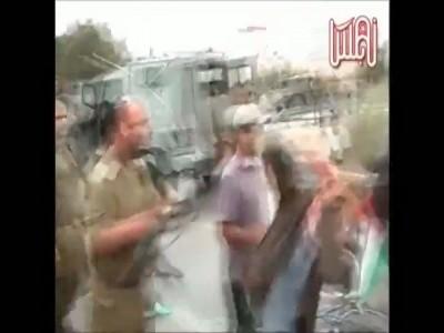 Офицер ЦАХАЛа отстранен от должности за избиение демонстранта