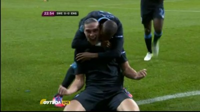 Швеция - Англия 2-3