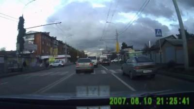 ДТП 4 декабря 2012 г. Краснодар.