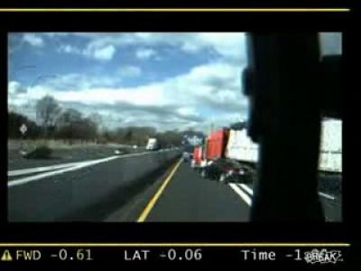 Жесткая авария на трассе