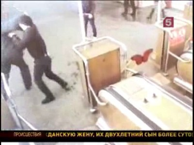 Приезжие из чечни избили милиционера