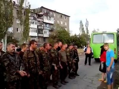 Украинских пленных военных