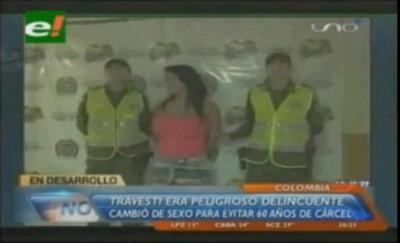 Колумбийский гангстер сбежал из тюрьмы и сменил пол
