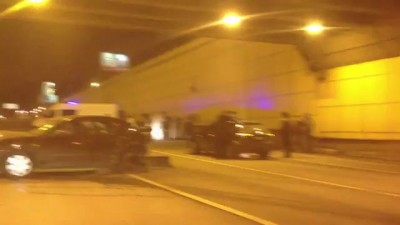 Авария на Ленинградке в тоннеле