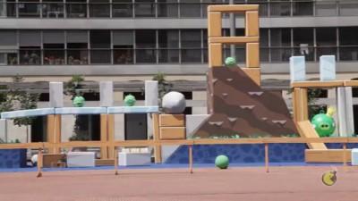 Spot Angry Birds en Terrassa