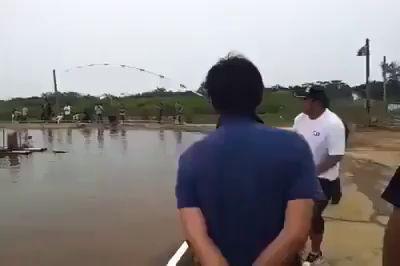 поймал