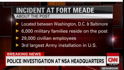 Fort Meade NSA Shooting