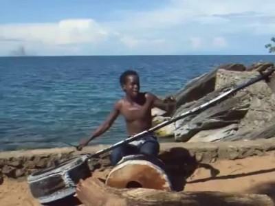 Африканский музыкант
