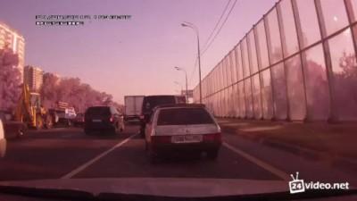 Замес на дороге
