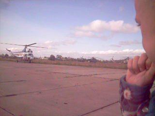 Рома и вертолет )