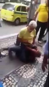 В Бразилии грабитель напал на неприметного, 72 летнего дедушку