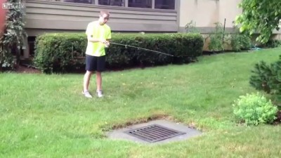 Рыбалка в канализации
