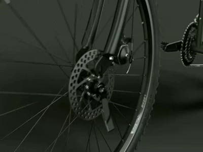 Montague Folding  Bike Animation