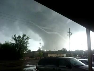 Торнадо прошел совсем близко