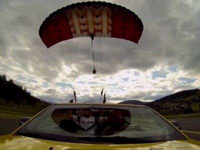 Spotlight: Skydive Into A Moving Car With Katie Hansen!!