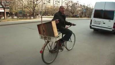 Музыкальный велосипедист Волгоград