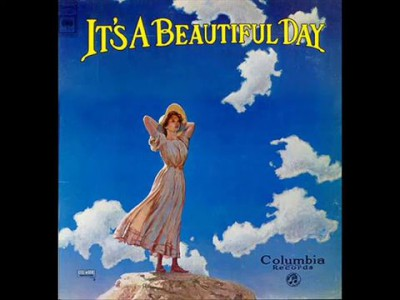 It's a beautiful day - Girl with no eyes