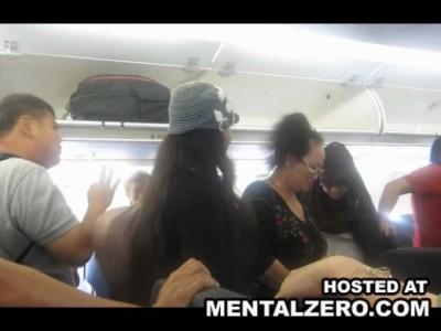Истерика в самолете