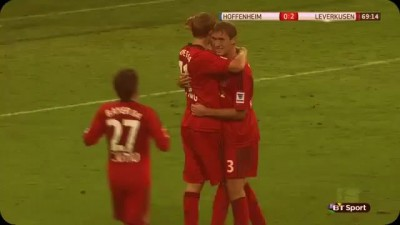 Stefan Kießling Ghost Goal Hoffenheim vs Bayer 04 Leverkusen 18/10/2013