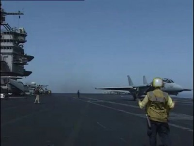 Doing the Aircraft Carrier Dance