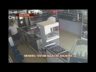 ограбление ювелирного