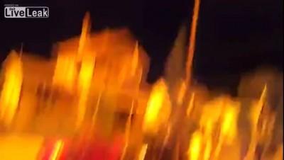 Состав с этанолом горит