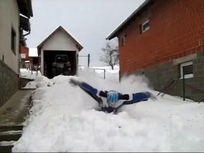 Снежный баттерфляй