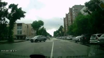Эпилептический припадок на дороге