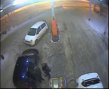 Поджог бензобака на АЗС в Оренбурге