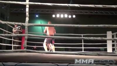 Podwójny nokaut/Double KO - Marcin Mencel vs. Mateusz Zawadzki