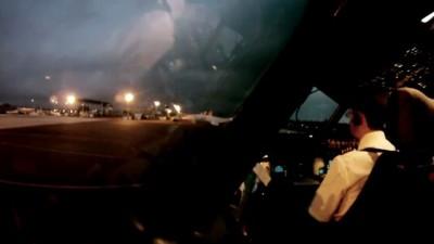 Рабочий день пилота за 8 минут