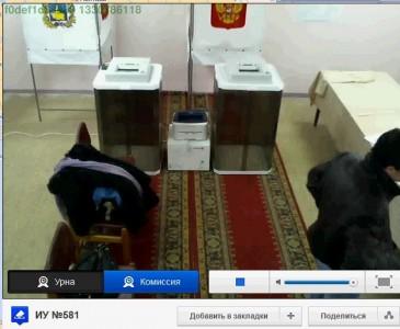 Веб камера на избирательном участке
