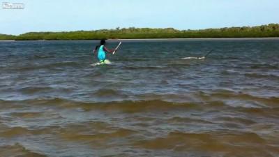 Абориген на рыбалке